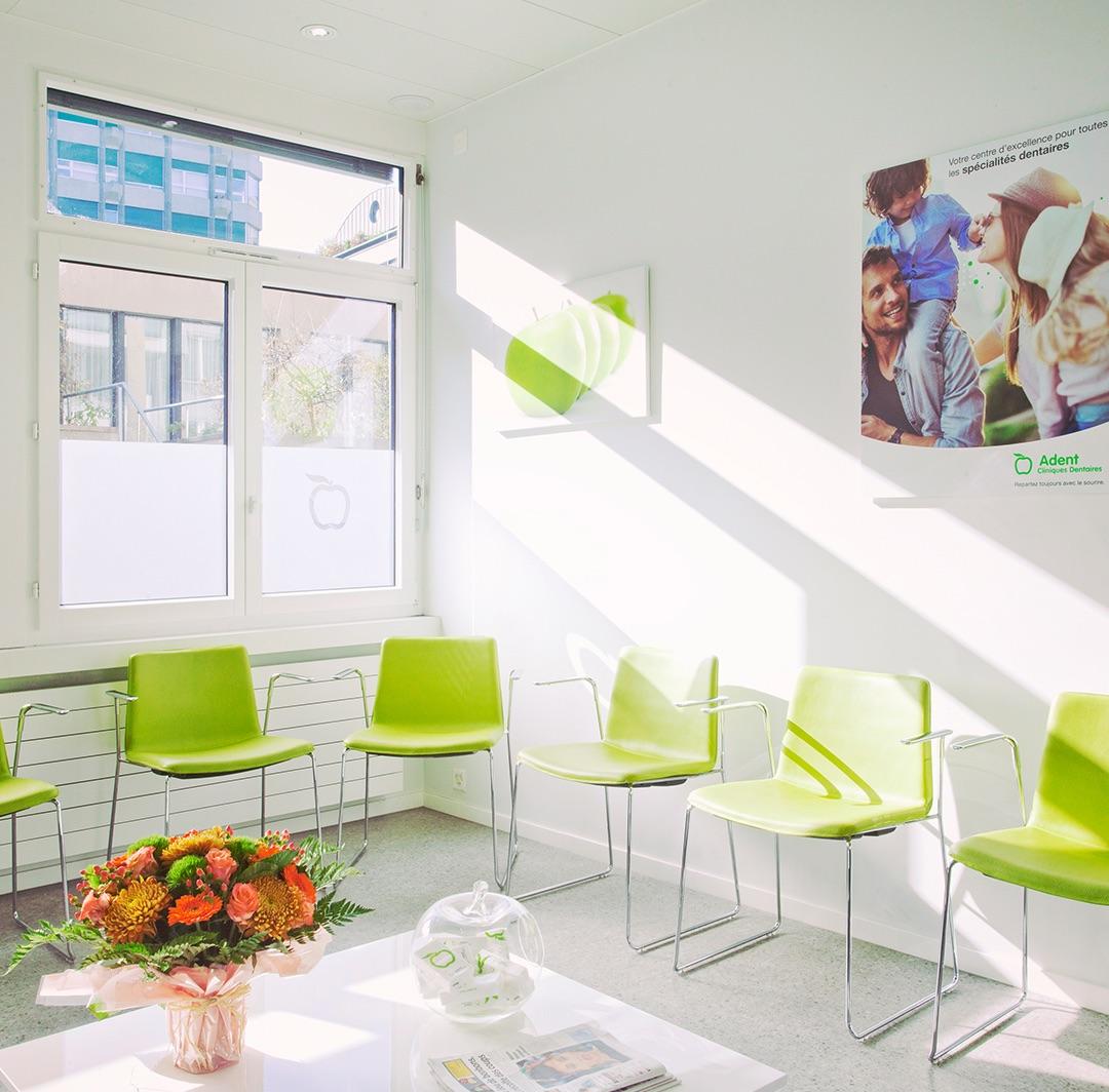 Clinique dentaire de Genève — Salle d'attente